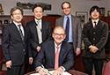 MOU signed with Johns Hopkins University for facilitating neuropathology and neuroscience collaboration