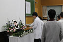 Annual memorial service for animals held