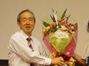 Professor Shibuki delivers last lecture