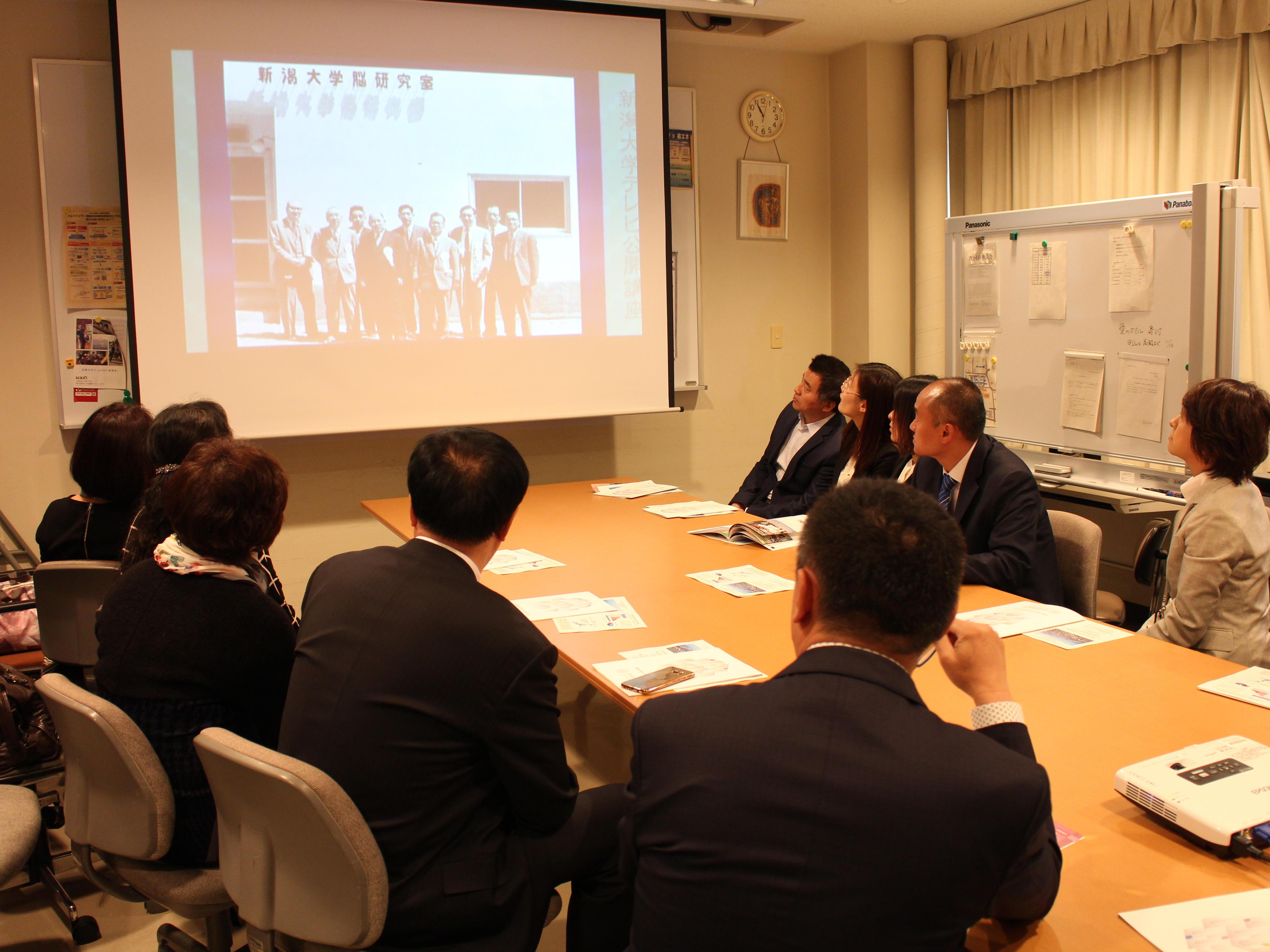 Harbin First Hospital delegation visit BRI