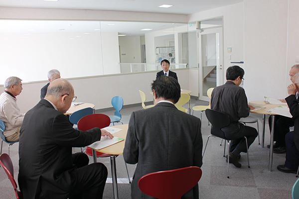 Delegation from Open University of Japan visits BRI
