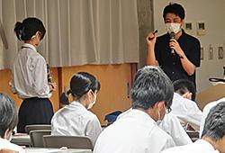 新発田高校SSH事業に伴う脳研究所教員による講座が開催されました