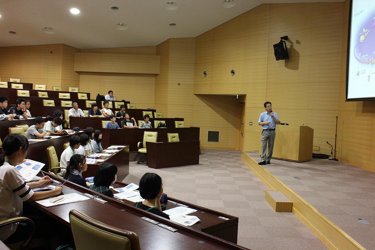 柏崎高校SSH脳研究所研修が開催されました