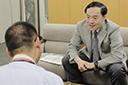 新潟日報企画『老いを健やかに』の取材を受けました