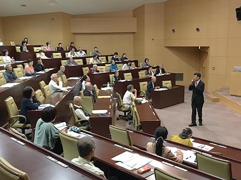 平成29年度後期 新潟大学公開講座が始まりました