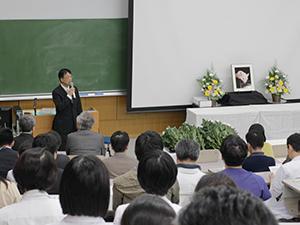 平成29年度 動物慰霊祭を開催しました